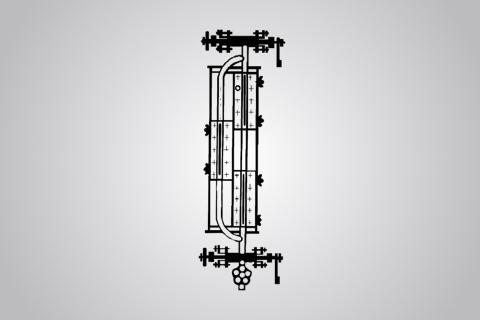 Водоуказательная колонка Т-74БМ