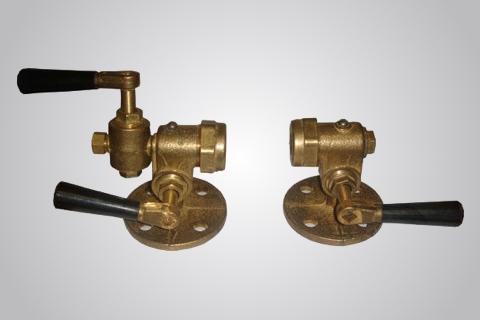 Запорное устройство клапанного типа 12с13бк