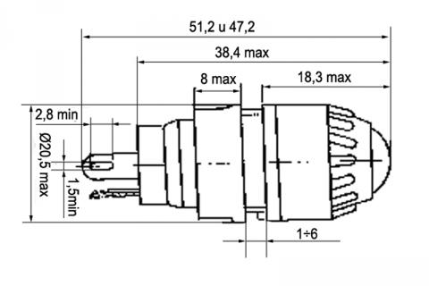 Фонарь сигнальный ФРМ 1