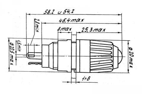 Фонарь сигнальный ФШМ 1