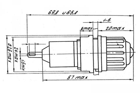 Фонарь сигнальный ФШМ 3