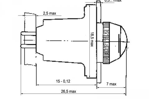 МФС 1 — фонарь сигнальный малогабаритный