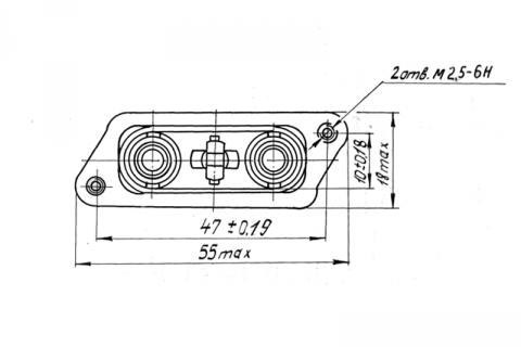 Патрон светового транспаранта ПСТ