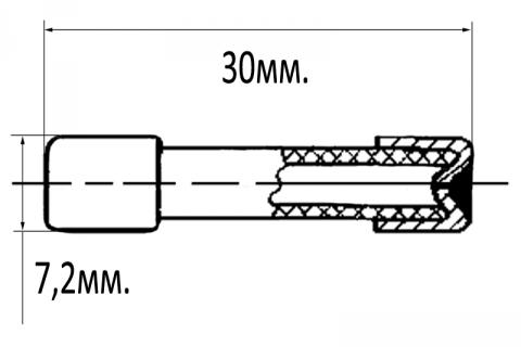 Вставка плавкая ВП3Б-1